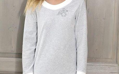 Noční košile Cana 685 S-XLsvětle šedý,M