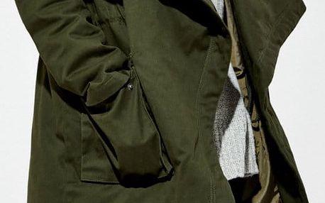 Kabát Moodo Z-KU-2403 olive S