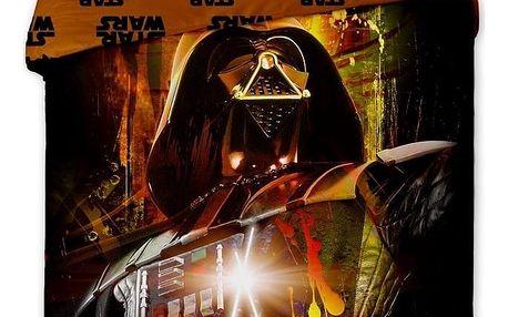 Jerry fabrics Povlečení Star Wars Darth Vader bavlna 140x200 70x90