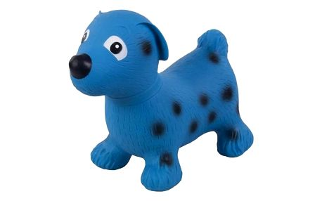 Skákací zvířátko Sun Baby Pejsek modré