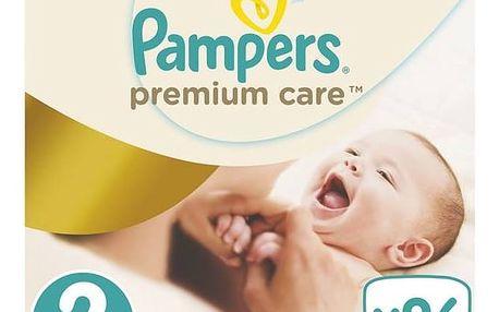 Plenky Pampers Premium Care New Baby Jumbo Pack vel. 2, 3-6kg, 96ks