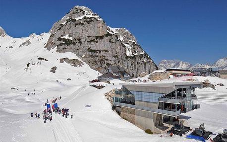 5denní Sella Nevea se skipasem | Sport Hotel Forte*** u lanovky | Doprava, ubytování, polopenze a skipas v ceně