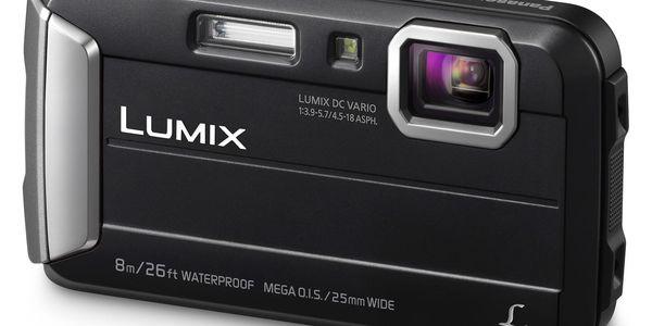 Digitální fotoaparát Panasonic Lumix DMC-FT30EP-K černý2