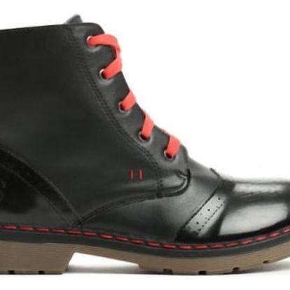 Dámské černé kotníkové boty Baloo 3113
