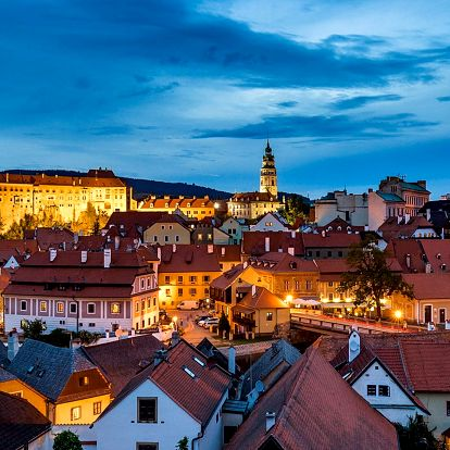 Romance v Českém Krumlově se snídaní a vínem