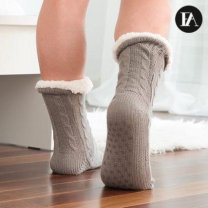 Ponožky s ABS Jednobarevné Fashinalizer