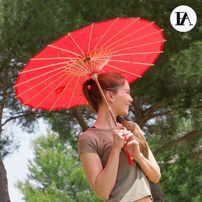 Bambusový Deštník Flowers Fashinalizer