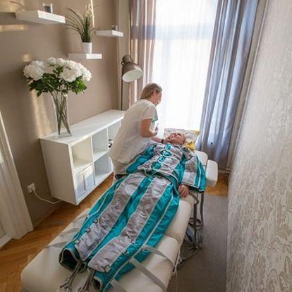 Celotělová lymfodrenáž včetně uvolnění uzlin a masáže obličeje v salónu v Praze i Brně.