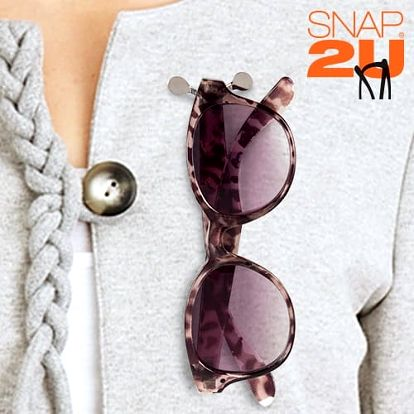 Snap2U Poutko na Brýle 3 kusy
