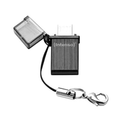 Flash Disk USB a Micro USB INTENSO 3524470 16 GB Černý