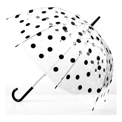 Puntíkovaný Hluboký Holový Deštník
