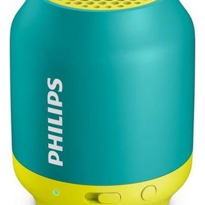 Přenosný reproduktor s Bluetooth Philips BT50A/00 2W
