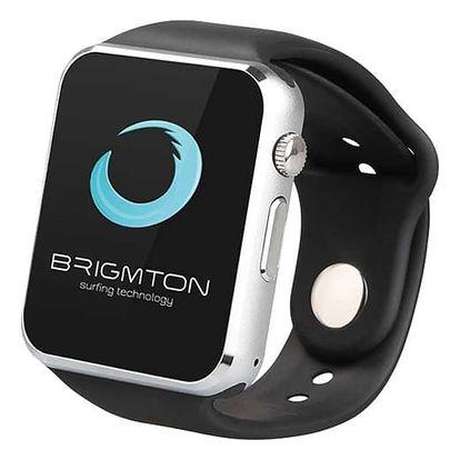 Chytré hodinky BRIGMTON BWATCH-BT4N 1.54in 55 g Černý
