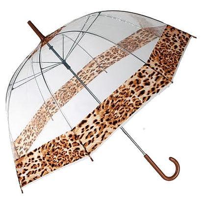 Hluboký Deštník s Leopardím Vzorem
