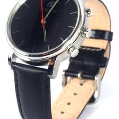 Chytré hodinky Deveroux SW9 stříbrné + DOPRAVA ZDARMA