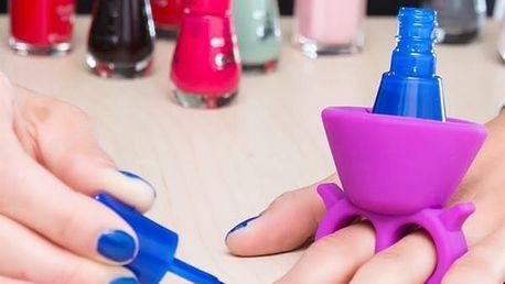Držák Laku na Nehty Home Nail Salon