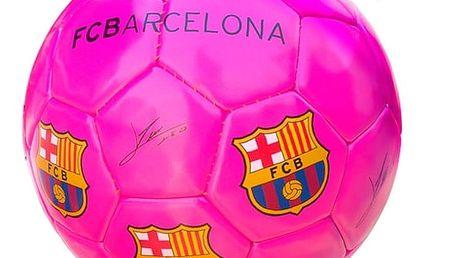 Velký Růžový Fotbalový Míč FC Barcelona