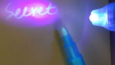 Pero s neviditelným inkoustem