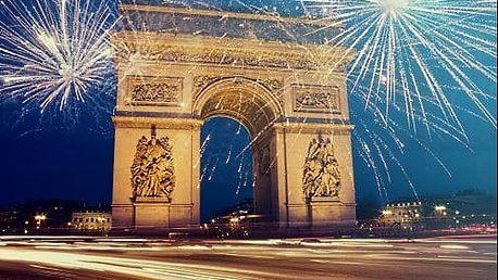 Užijte si SILVESTR v Paříži. 3 denní zájezd s dopravou a průvodcem.