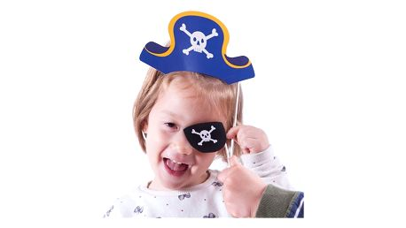 Pirátské Rekvizity na Vtipné Focení 12 kusů