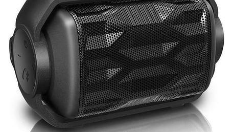 Přenosný reproduktor s Bluetooth Philips BT2200B/00 2,8W Černý