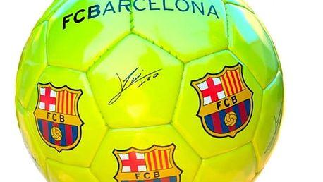 Střední Žlutý Fotbalový Míč FC Barcelona