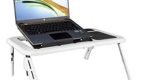 Laptray Pro Mini Stolek na Notebook s Větrákem