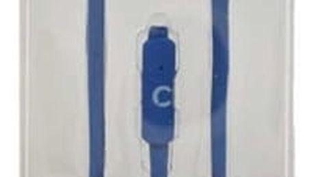 Sluchátka s mikrofonem Talkcom Square Modrý Silikonové