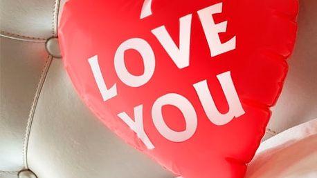 Nafukovací Srdce I Love You