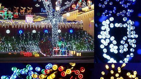 Vánoční osvětlení na každý stromeček či střechu