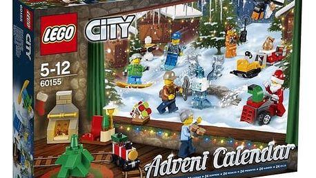 Stavebnice LEGO® CITY 60155 Adventní kalendář + Doprava zdarma
