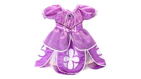 Dětský kostým, pohádkové šaty princezny Sofie první, staň se i ty opravdovou princeznou z pohádky.