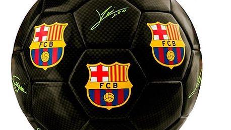 Malý Černý Fotbalový Míč FC Barcelona