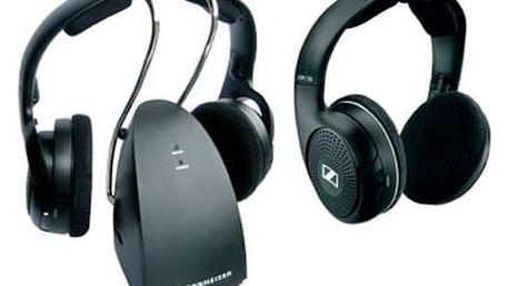 Bezdrátová sluchátka Sennheiser RS 119 DUO 2 pcs Černý