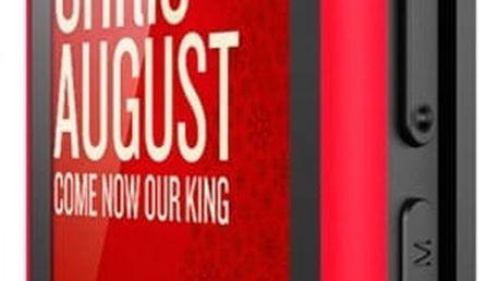MP4 přehrávač Sunstech IBIZA8GBRD 8 GB 1,8in RADIO FM MICRO SD USB 2.0 Červený