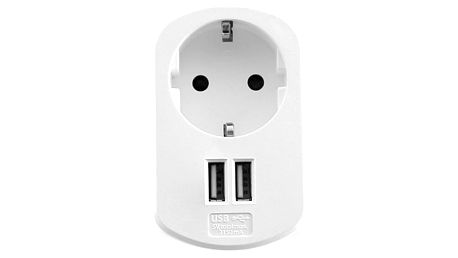 Zástrčka se 2 USB Porty Ewent EW1211 3,1 A