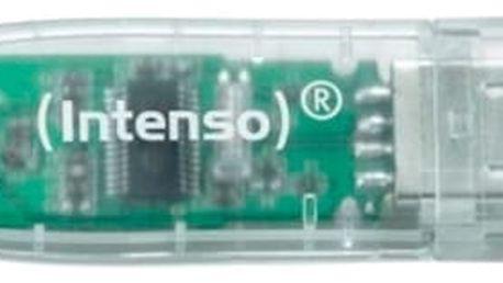 USB flash disk INTENSO 3502480 32 GB Transparentní