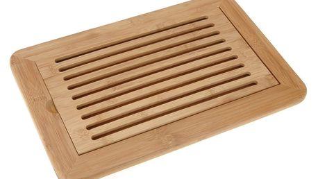 Prkénko na krájení chleba Bamboo 38 x 24 x 2 cm