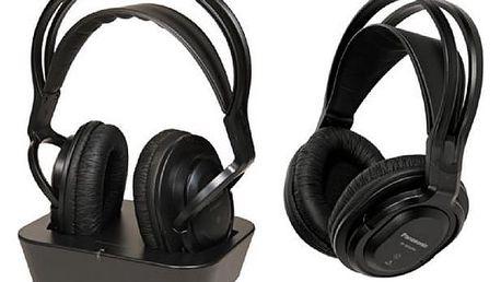 Bezdrátová sluchátka Panasonic RP-WF830WE 2 pcs Černý Čelenka