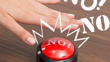 Tlačítko Ne, Ne a Ne!