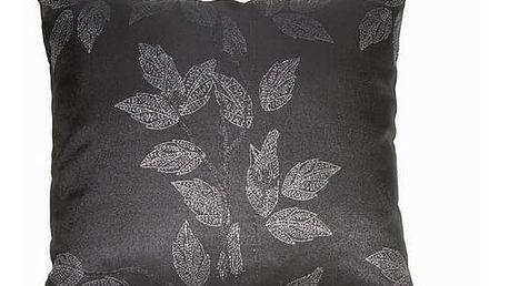 Black poplar cushion by Loom In Bloom