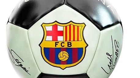 Střední Fosforeskující Fotbalový Míč FC Barcelona