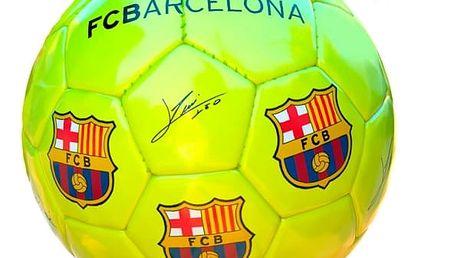 Velký Žlutý Fotbalový Míč FC Barcelona