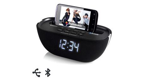Bluetooth Radiobudík AudioSonic CL1462