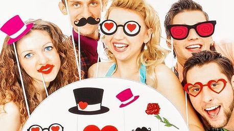 Zábavné Doplňky pro Romantické Focení 12 kusů
