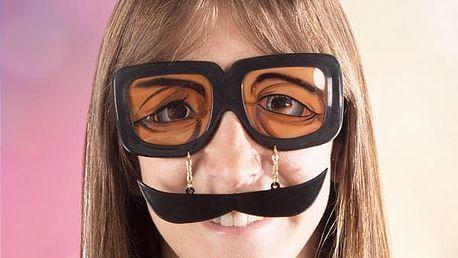 Žertovné Brýle s Knírem