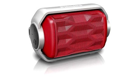 Přenosný reproduktor s Bluetooth Philips BT2200R/00 2,8W Červený