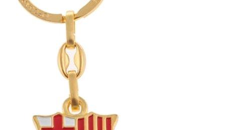 Zlatý Přívěsek na Klíče FC Barcelona