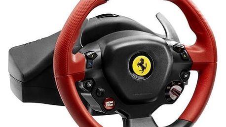 Volant Thrustmaster Ferrari 458 Spider pro Xbox One, One X, One S + pedály (4460105) černý
