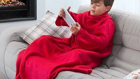Extra měkká dětská deka Snug s rukávy
